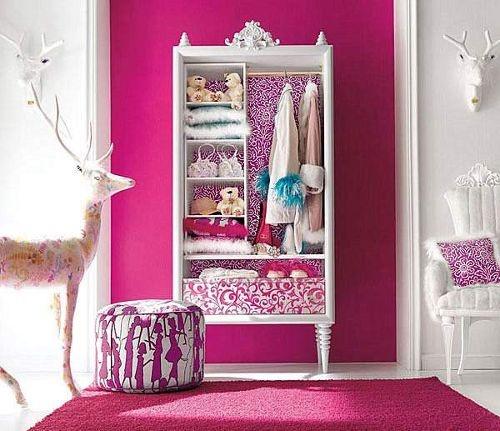 muebles dormitorio : Glamourosos y Coloridos Dormitorios de Niñas