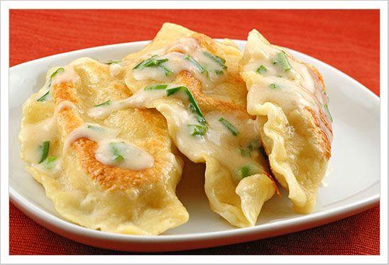 Potato and Cheese Pierogi. Must try this recipe!