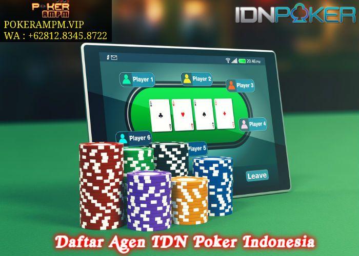 Daftar Agen Idn Poker Indonesia Pokerampm Di 2020 Kartu Remi Kartu Permainan Kartu
