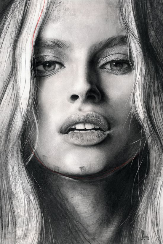Tanya - graphite on paper