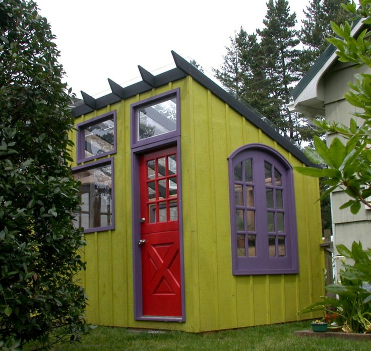Swedish Cabin With Roof Top Garden And Retractable Outdoor: 17 Best Ideas About Cottage Garden Sheds On Pinterest