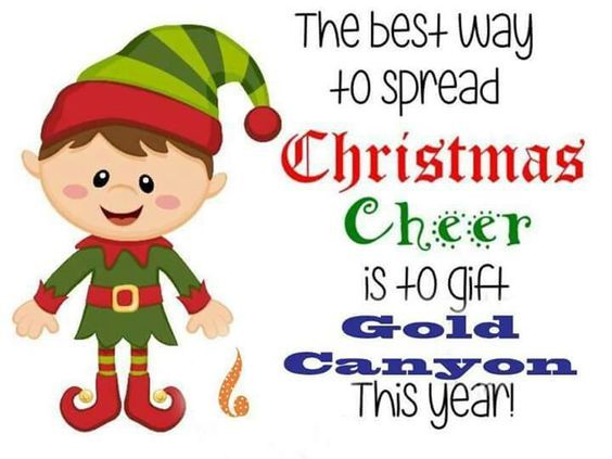 Spread the Christmas Cheer with GOLD CANYON! https://mamamate.mygc.com