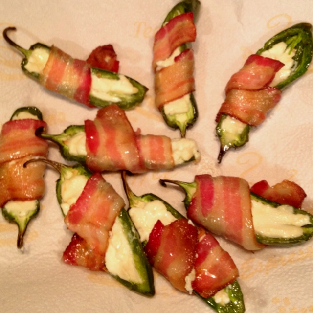 jalapeno with cream cheese and bacon