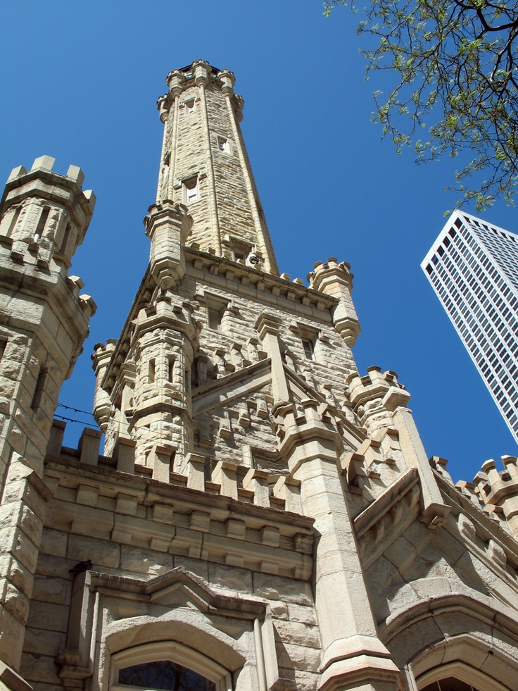 Old Water Tower in #chicago