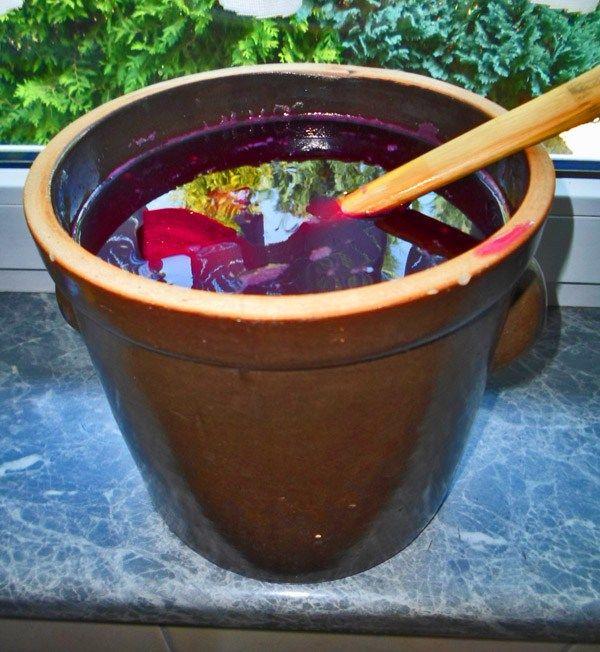 Zakwas z buraków naturalnie fermentowany jako super lek