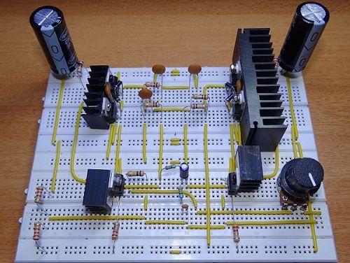 Supply Electronic Circuit Diagram Free Information Basic Electronics