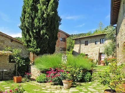 CFS102 Podere La Capraia - Villa / Ferienhaus / Ferienwohnung Toskana, sieht sehr stimmungsvoll aus