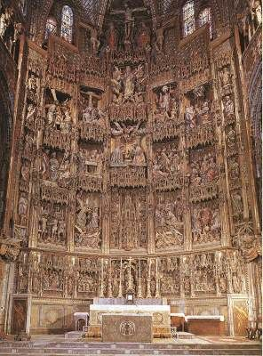 UNKNOWN MASTER, SpanishHigh Altar1498-1504Polychrome larch woodCathedral, Toledo