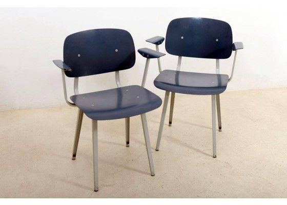 Revolt Chairs 4065 by Friso Kramer for Ahrend de Crikel, Set of 2