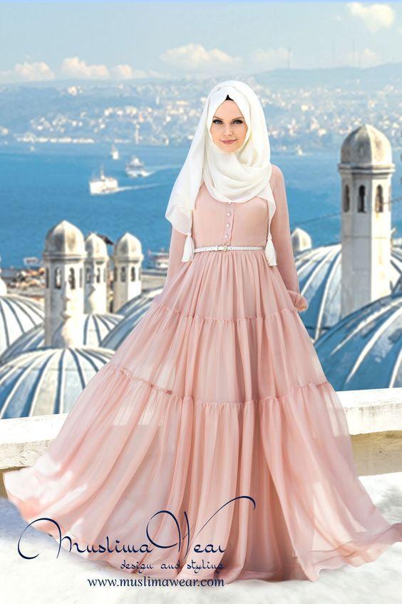 Mejores 164 imágenes de Muslim fashion en Pinterest   Estilos hijab ...