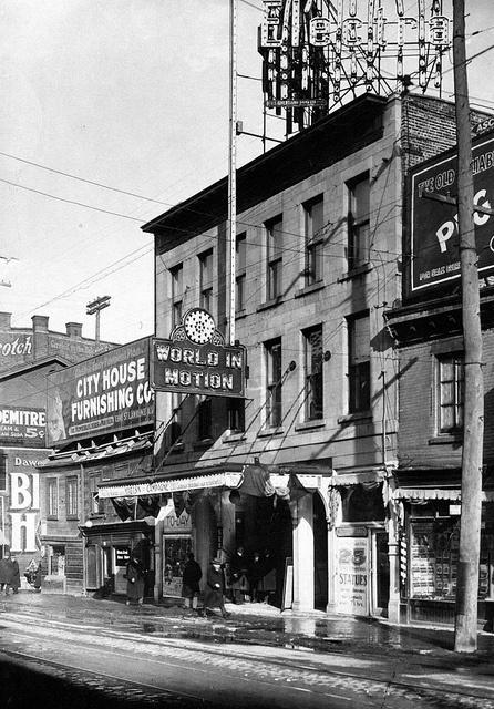 Ste-Catherine Street.