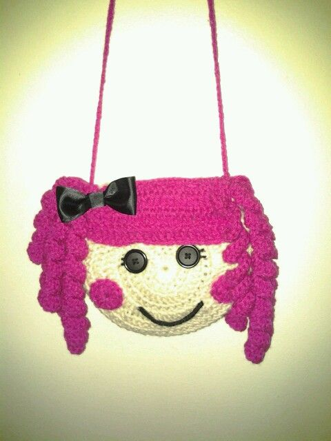 How To Crochet Peppa Pig Purse Bag Free Pattern Tutorial By Marifu6a : 187 Best images about Borse uncinetto on Pinterest Free ...
