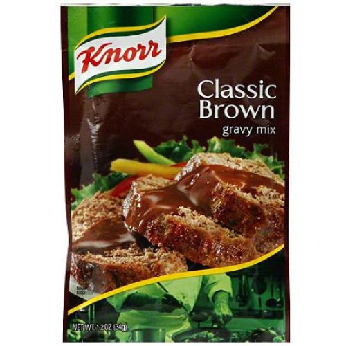 Knorr Classic Brown Gravy Mix, 1.2 oz (Pack of 12) | #Grocery