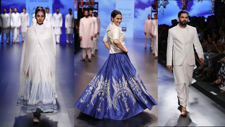 Lakme Fashion Week 2016 Day4 | Designs By Anita Dongre With Sonakshi Sin...