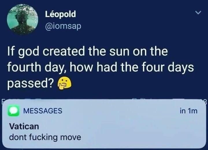 God wants to know your location