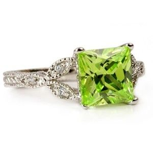 Peridot Engagement Rings | The Wedding Specialists