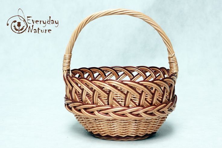Beautiful traditional hunt basket
