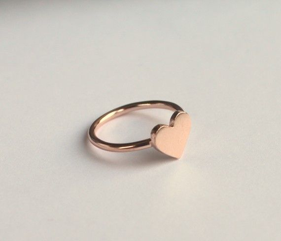 heart ring - must have: Pretty Rings, Pinky Rings, Gold Plates, Rose Gold Watches, Heart Rings, Love Heart, Gold Heart, Rose Gold Rings, Silver Rose