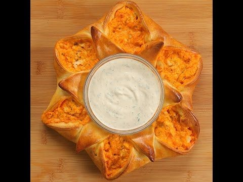 Buffalo Chicken Pizza Star - Twisted