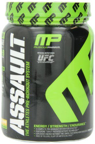 LOOK!  Muscle pharm Assault Pre Workout Pineapple Mango