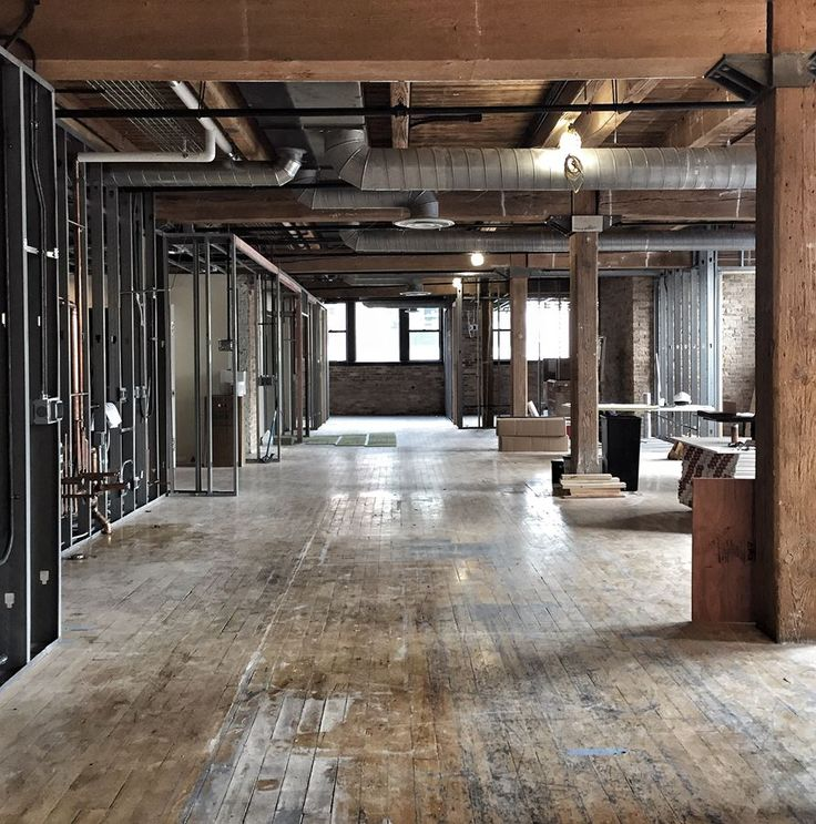 Best 25 warehouse office space ideas on pinterest for Loft office design ideas