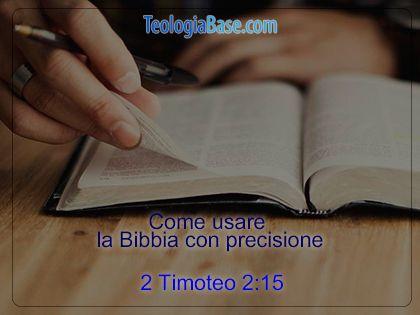 Teologia Base   La bibbia è infallibile perché è la Parola di Dio