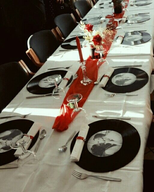 Record Placemats  Love This Idea!