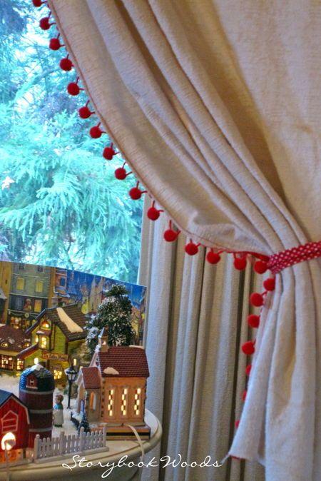 1000 Ideas About Pom Pom Curtains On Pinterest Curtains