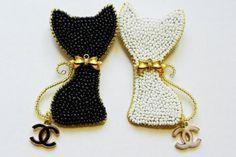 Диоровские котики от Шанель