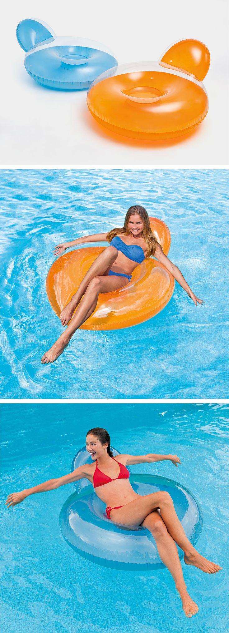 Mehr Relaxing Geht Nicht: Mit Dem Aufblasbaren Schwimmsessel Können Sie Im  Pool Einen Entspannten Tag