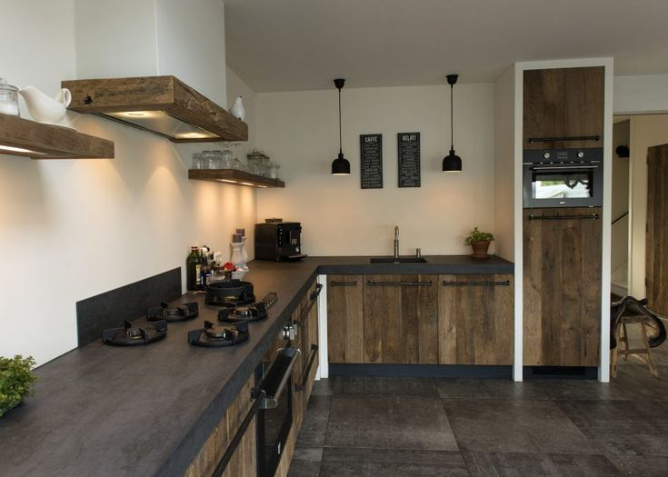 badkamer, Modern Vintage Interior Restylexl Oud Eiken Keuken Landelijke Stijl Product Moderne Oude Boerderij In: moderne keuken in de oude