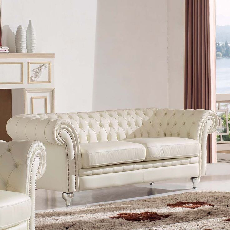 25 Best Ideas About White Leather Couches On Pinterest: 25+ Best Ideas About Cream Sofa On Pinterest
