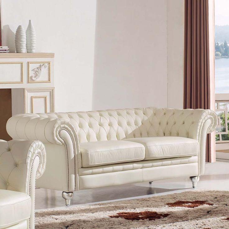 Real Leather Sofas Italian: 25+ Best Ideas About Cream Sofa On Pinterest