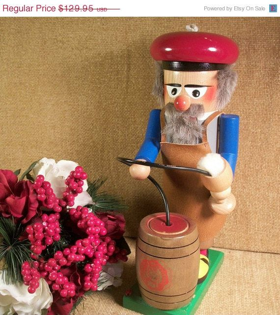 Steinbach German Nutcracker Beer Meister Brew by TKSPRINGTHINGS....