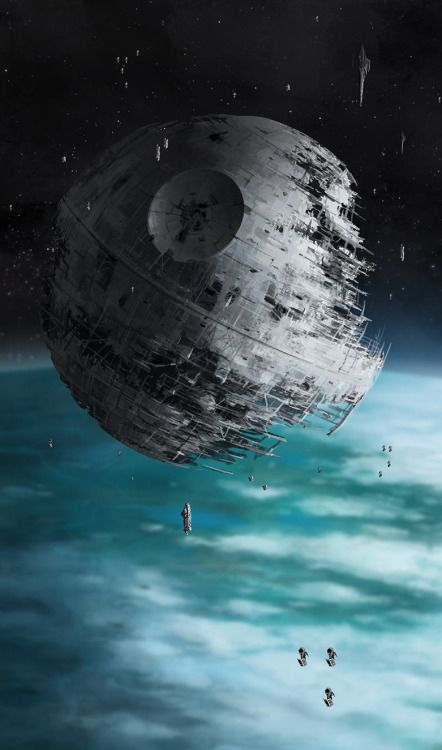 Second Death Star from Return of the Jedi