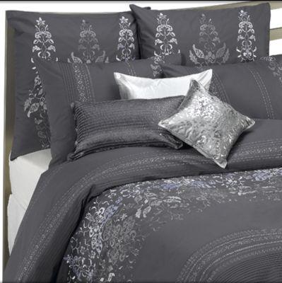 cotton thread quilt count grey cover full dark duvet