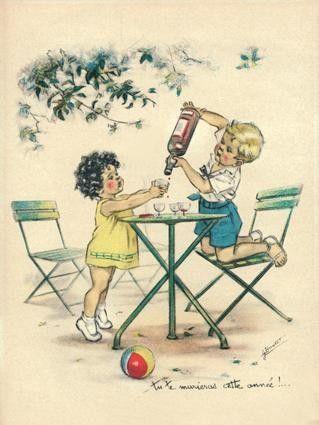 Germaine Bouret -Tu te marieras cette année !...