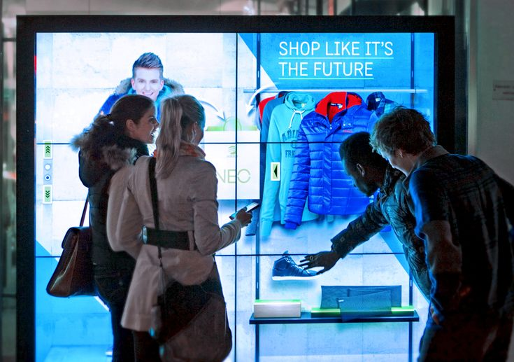 Adidas Virtual Storefront Concept Uses Interactive Digital Signage Controlled With Smartphones - ScreenMedia Daily