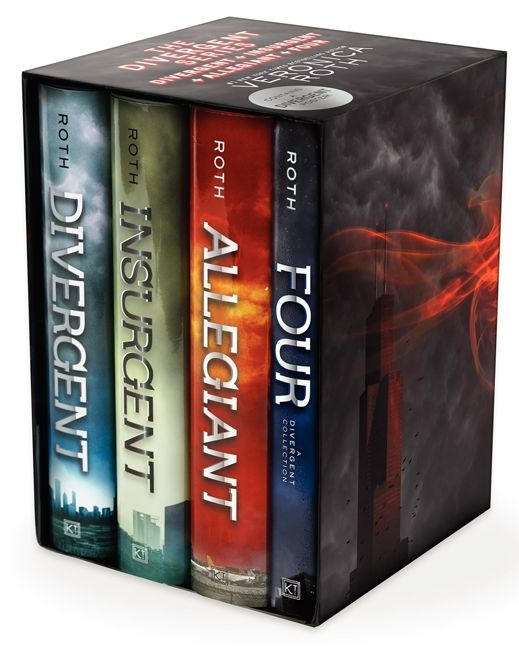 The Divergent Series: Divergent, Insurgent, Allegiant, Four
