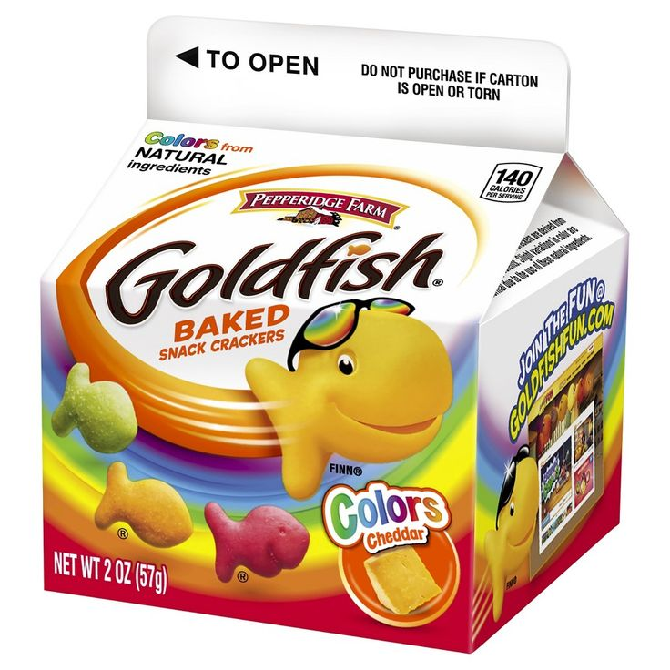 Pepperidge Farm Goldfish Colors Cheddar Baked Snack Crackers - 2oz