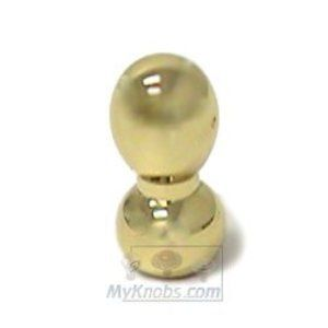 Pullissimi - Polished Brass Hourglass Knob in Polished Brass - Italbrass