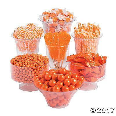 Orange Candy Buffet Assortment