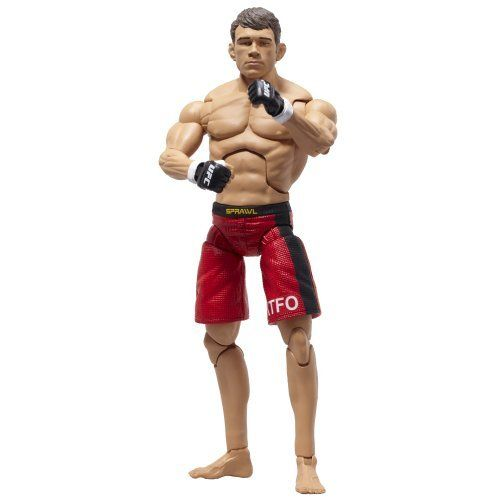 """Deluxe UFC Figures #7 Forrest Griffin by UFC. $11.95. Deluxe 7"""" action figure. Play or collect. Highly detailed decoration matches the fighter?s apparel from specific UFC events. 30 unique points of articulation. From the Manufacturer                Official UFC deluxe 7"""" Forrest Griffin figure.                                    Product Description                The UFC Deluxe Forrest Griffin Action Figure features 26-point articulation so fans can recreate real ..."""