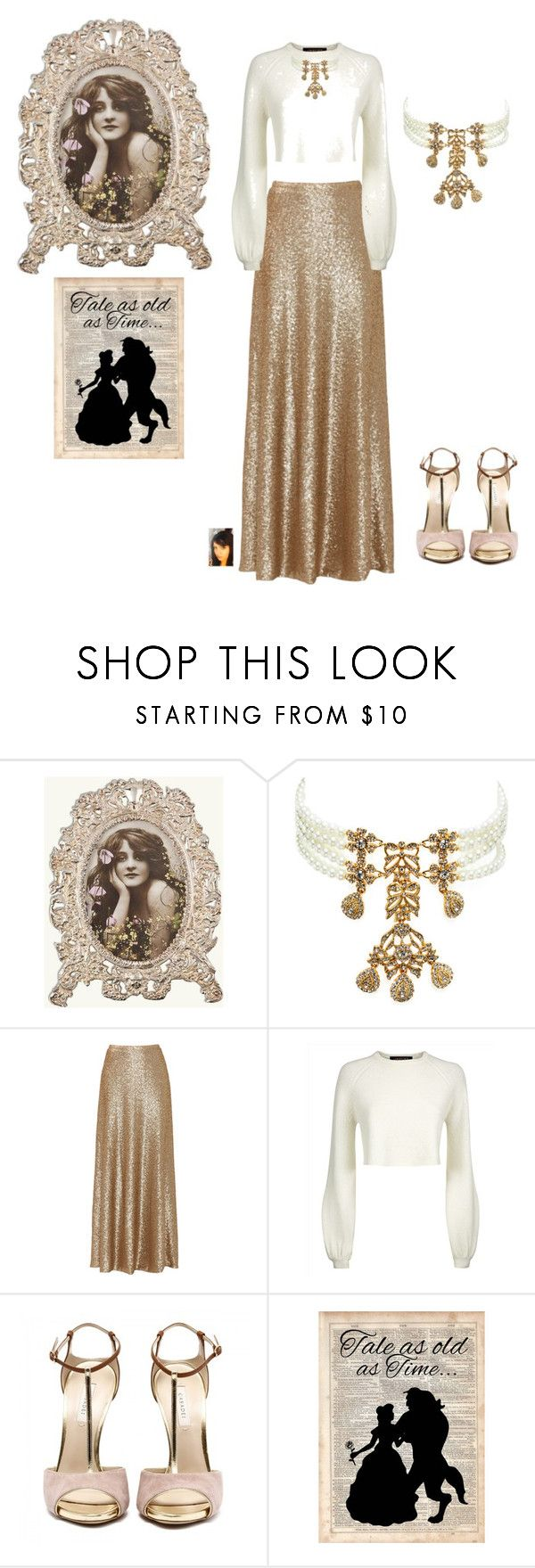 """""""Vintage Wear"""" by gaya-vas ❤ liked on Polyvore featuring Kenneth Jay Lane, Slate & Willow, Jaeger, Disney and vintage"""