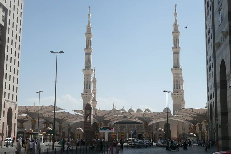 On Entering Masji nabawi