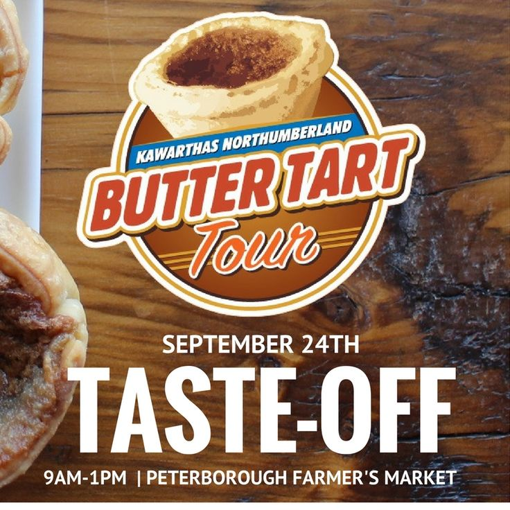 Could you choose a winner from the Kawarthas Northumberland Butter Tart Tour…