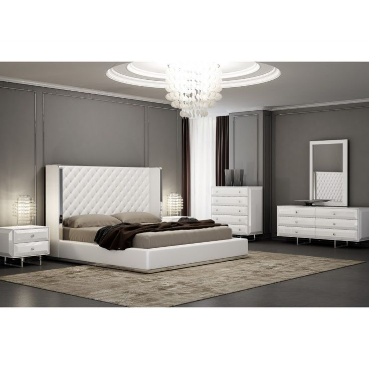 17 Best Images About Comfortably Bedroom Decor With: 17 Best Ideas About White Tufted Headboards On Pinterest