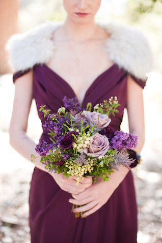 Purple, plum, and lavender bridesmaid   Candice Benjamin Photography   see more on: http://burnettsboards.com/2014/04/game-thrones-themed-wedding-2/