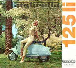 1963 Lambretta Li 125 Riverside advertisement with Jayne Mansfield From California Classix Reference Scooter- 1963 Lambretta Li 125 Riverside! page