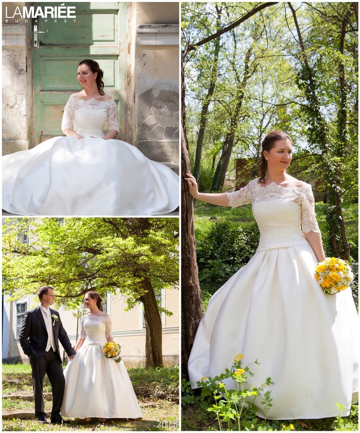 Baronda esküvői ruha - Pronovias 2015 kollekció http://lamariee.hu/eskuvoi-ruha/pronovias-2015/baronda